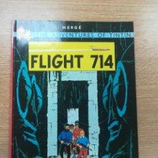 Cómics: THE ADVENTURES OF TINTIN FLIGHT 714 (MAMMOTH). Lote 195231685