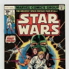 Cómics: STAR WARS 1 - MARVEL 1977 FN/VFN. Lote 195236173
