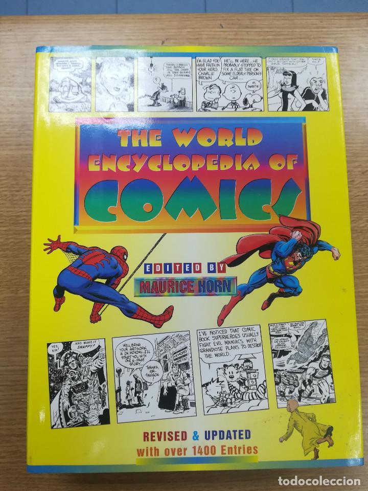 THE WORLD ENCYCLOPEDIA OF COMICS (MAURICE HORN - REVISED & UPDATED) (Tebeos y Comics - Comics Lengua Extranjera - Comics USA)