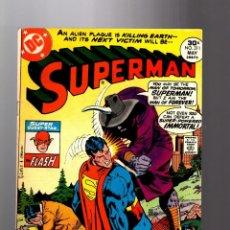 Cómics: SUPERMAN 311 - DC 1977 FN/VFN / JOSE LUIS GARCIA LOPEZ COVER / FLASH. Lote 195950561