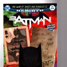 Cómics: BATMAN 25 - DC REBIRTH 2017 VFN/NM / TOM KING / WAR OF JOKES AND RIDDLES. Lote 196264293