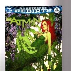 Cómics: BATMAN 26 - DC REBIRTH 2017 VFN/NM VARIANT COVER / TOM KING / WAR OF JOKES AND RIDDLES. Lote 196264912