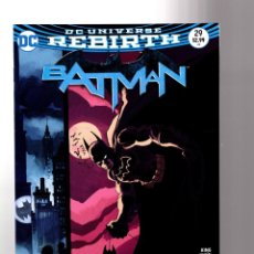 Cómics: BATMAN 29 - DC REBIRTH 2017 VFN/NM VARIANT COVER / TOM KING / WAR OF JOKES AND RIDDLES. Lote 196265835
