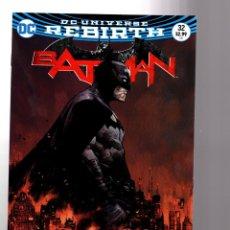 Cómics: BATMAN 32 - DC REBIRTH 2017 VFN/NM VARIANT COVER / TOM KING / WAR OF JOKES AND RIDDLES. Lote 196266831