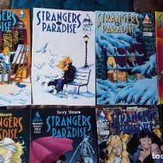 Cómics: STRANGERS IN PARADISE VOL. 2 COMPLETA. 14 NÚMEROS. TERRY MOORE. Lote 196306890