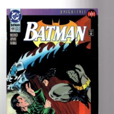 Cómics: BATMAN 499 - DC 1993 VFN/NM / KNIGHTFALL / MOENCH & APARO. Lote 196508267