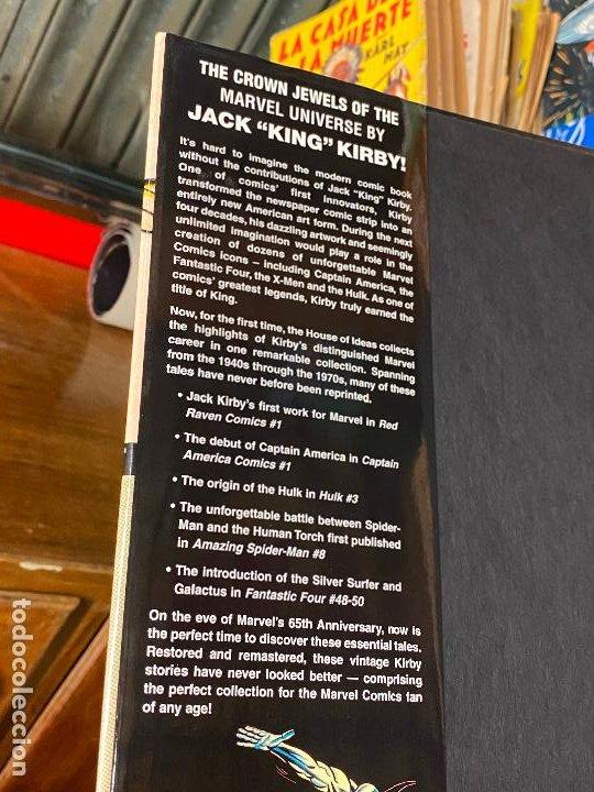 Cómics: Jack Kirby Marvel Visionaries - Como nuevo - Foto 2 - 196937897