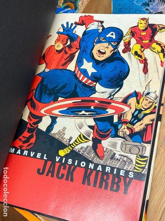 Cómics: Jack Kirby Marvel Visionaries - Como nuevo - Foto 3 - 196937897