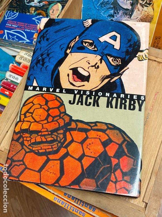 JACK KIRBY MARVEL VISIONARIES - COMO NUEVO (Tebeos y Comics - Comics Lengua Extranjera - Comics USA)