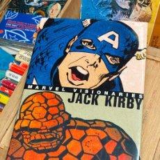 Cómics: JACK KIRBY MARVEL VISIONARIES - COMO NUEVO. Lote 196937897