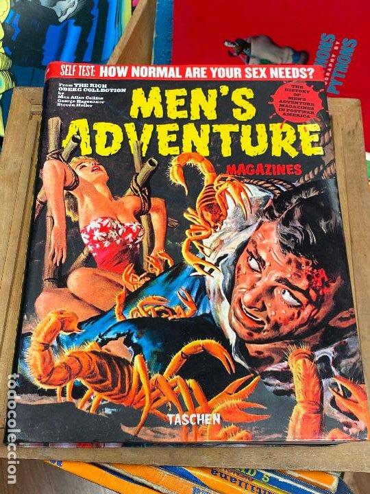 MENS ADVENTURE MAGAZINES PERFECTO ESTADO (Tebeos y Comics - Comics Lengua Extranjera - Comics USA)