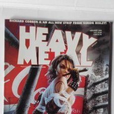 Cómics: HEAVY METAL JANUARY 1999. Lote 197464460