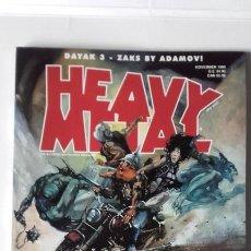 Cómics: HEAVY METAL NOVEMBER 1998. Lote 197467520