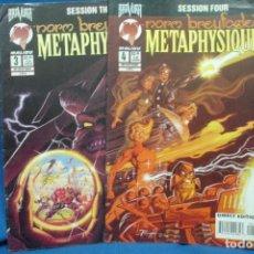 Cómics: METAPHYSIQUE Nº 3, 4 MALIBU COMICS 1995 - VERSIÓN ORIGINAL USA. Lote 198060533