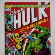 Cómics: THE INCREDIBLE HULK 181 WOLVERINE .REPRINT 2019. Lote 198282876