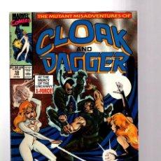 Cómics: CLOAK AND DAGGER 10 - MARVEL 1990 FN / X-FORCE. Lote 198403388