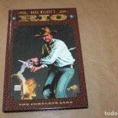 Comics : RIO, DE DOUG WILDEY'S, THE COMPLETE SAGA, TAPA DURA, EN INGLÉS. Lote 198829083