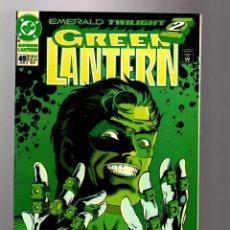 Cómics: GREEN LANTERN 49 - DC 1993 FN/VFN / EMERALD TWILIGHT / MAD HAL JORDAN. Lote 198970375