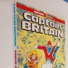 Cómics: CAPTAIN BRITAIN BEFORE EXCALIBUR - 1988 - 196 PGS. - NUEVO - MARVEL ENTERTAINMET GROUP. Lote 199071521