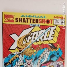 Cómics: ANNUAL SHATTERSHOT PART 4 - X FORCE - 1 - 1992 - NUEVO - MARVEL ENTERTAINMENT GROUP. Lote 199074227