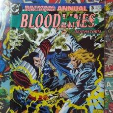 Cómics: BATMAN - LEGENDS OF THE DARK KNIGHT ANNUAL 3. Lote 199284423