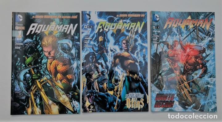 AQUAMAN VOL.1 ECC NUMEROS 1 AL 7. (Tebeos y Comics - Comics Lengua Extranjera - Comics USA)