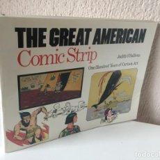 Cómics: THE GREAT AMERICAN COMIC STRIP - BULFINCH - 1990 - ONE HUNDRED YEARS OF CARTOON ART - ¡NUEVO!. Lote 200160998