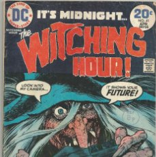 Comics: CÓMIC AMERICANO THE WITCHING HOUR VOL.6 1974. Lote 201963128