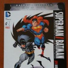 Cómics: COMIC DC AMERICANO SUPERMAN / BATMAN Nº 1. 2016. IDIOMA INGLÉS.. Lote 202868886