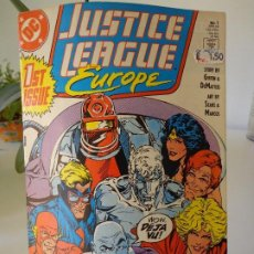 Cómics: JUSTICE LEAGUE EUROPE #1. Lote 203096110
