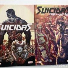 Fumetti: SUICIDAS. TOMOS 1 Y 2.RUSTICA. ECC.. Lote 203146098