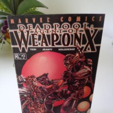 Cómics: DEADPOOL #59-3RD AGENT OF WEAPON X AND DEATH....... Lote 203151810