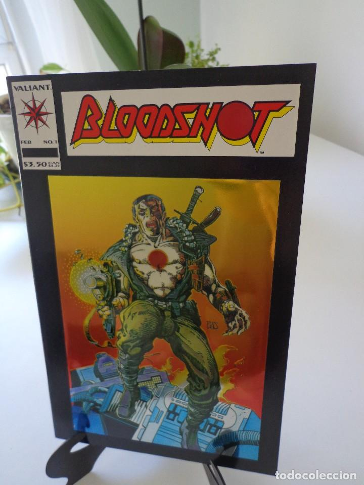 BLOODSHOT #1 1ST SOLO-HOLOCOVER PERFECTO-MOVIE!! (Tebeos y Comics - Comics Lengua Extranjera - Comics USA)