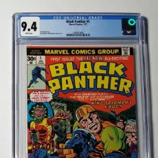 Cómics: OFERTA COMIC USA BLACK PANTHER 1 CGC 9.4 WHITE PAGES. MARVEL 1977. Lote 203200547