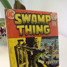 Cómics: SWAMP THING #7-FIRST CROSSOVER SWAMP THING VS BATMAN. Lote 203248145