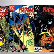 Fumetti: BATMAN 436 437 438 439 - DC 1989 VFN+ / YEAR 3 / ORIGIN OF ROBIN DICK GRAYSON. Lote 224231771