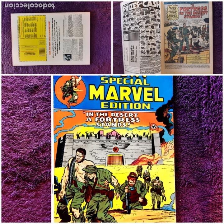 SGT FURY SPECIAL MARVEL Nº 14 1973 IMPECABLE ESTADO (Tebeos y Comics - Comics Lengua Extranjera - Comics USA)
