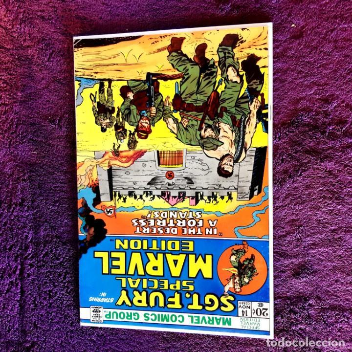Cómics: SGT FURY SPECIAL MARVEL Nº 14 1973 IMPECABLE ESTADO - Foto 2 - 203555402