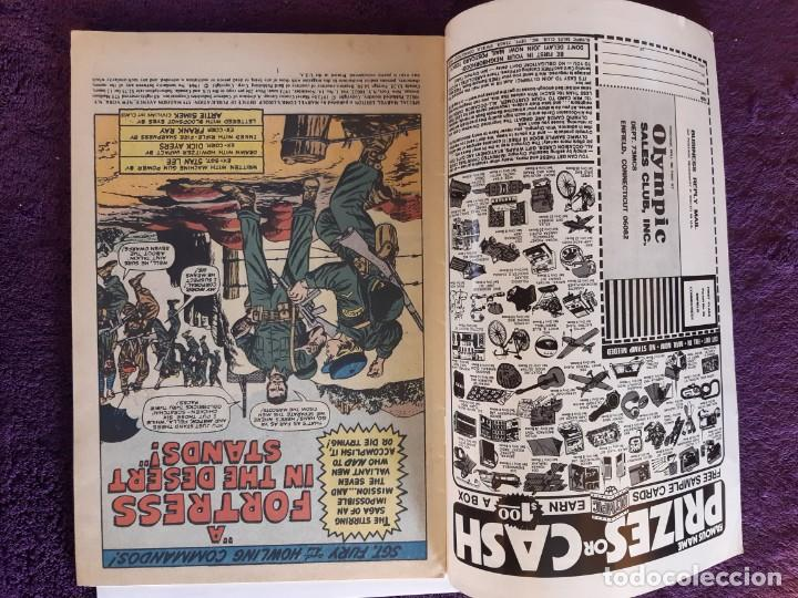 Cómics: SGT FURY SPECIAL MARVEL Nº 14 1973 IMPECABLE ESTADO - Foto 3 - 203555402