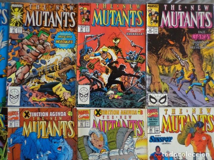 Cómics: 10 NEW MUTANTS COMICS SET-USA-FIRST APPEARANCES-NEXT MOVIE!! - Foto 3 - 203603451