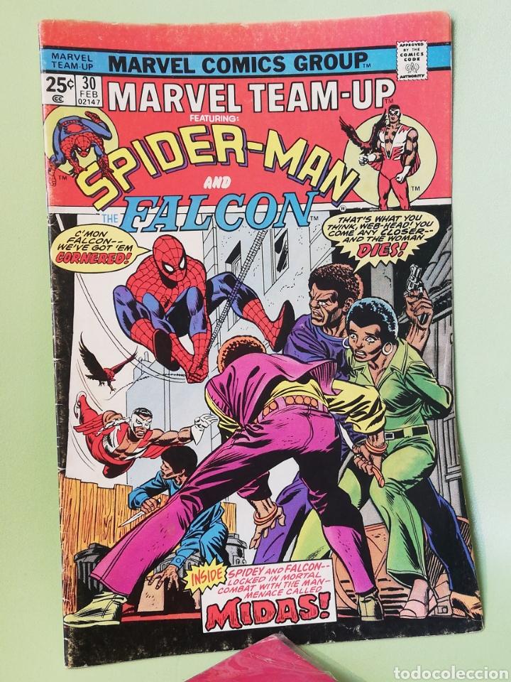 MARVEL TEAM-UP 30 SPIDERMAN & FALCON MARVEL COMICS USA 1975 (Tebeos y Comics - Comics Lengua Extranjera - Comics USA)