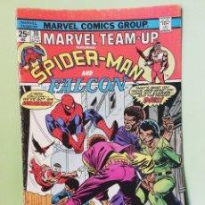 Cómics: MARVEL TEAM-UP 30 SPIDERMAN & FALCON MARVEL COMICS USA 1975. Lote 203806713