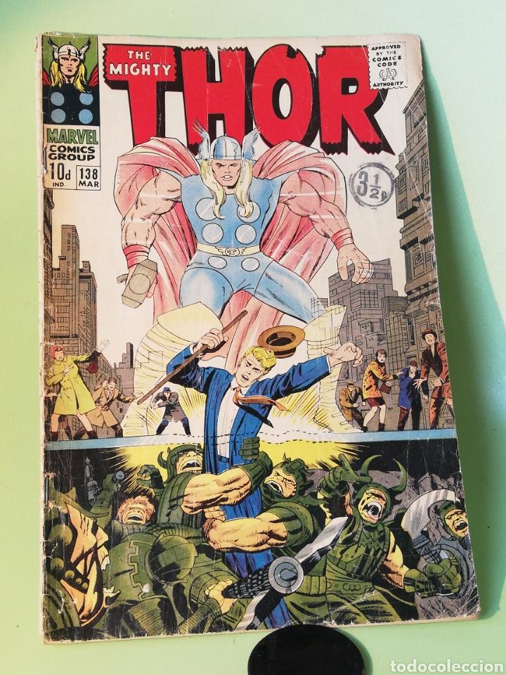 THOR 138 JACK KIRBY MARVEL COMICS USA 1967 VER DESCRIPCIÓN Y FOTOS (Tebeos y Comics - Comics Lengua Extranjera - Comics USA)