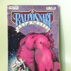 Cómics: RALPHSNART ADVENTURES 5 NOW UNDERGROUND COMICS USA 1987. Lote 204127938