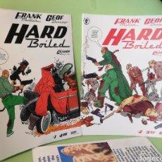 Cómics: HARD BOILED 1 & 2 FRANK MILLER DARK HORSE COMICS USA 1990. Lote 204255583
