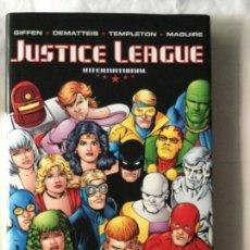 Cómics: JUSTICE LEAGUE _- TAPAS DURAS - VOLUMEN FOUR - 208 PÁGINAS - 24,99$ USA. Lote 204327463