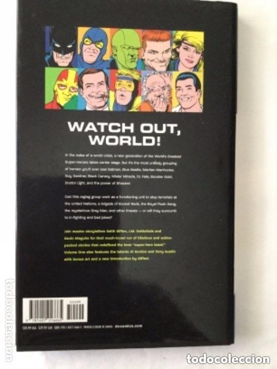 Cómics: Justice league - tapa dura -186 páginas - 24,99 dolars USA- volume one - Foto 3 - 204329718