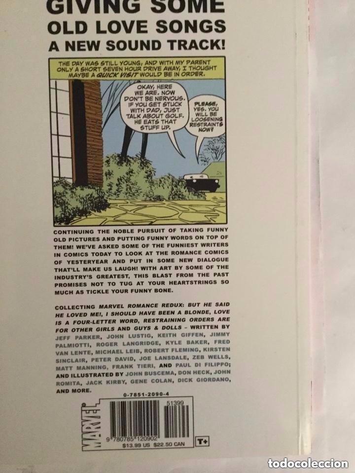Cómics: romance -marvel - 13,99$- 85 páginas dobles - año 2007- a estrenar - Foto 4 - 204330142