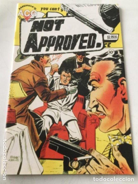NOT APPROVED (Tebeos y Comics - Comics Lengua Extranjera - Comics USA)