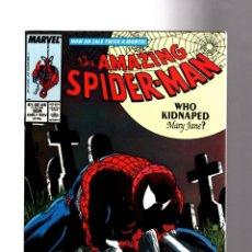 Comics: AMAZING SPIDER-MAN 308 - MARVEL 1988 VFN- / MCFARLANE / VS TASKMASTER. Lote 204385045